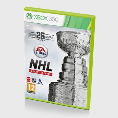 Диск для XBOX 360 NHL Legacy edition