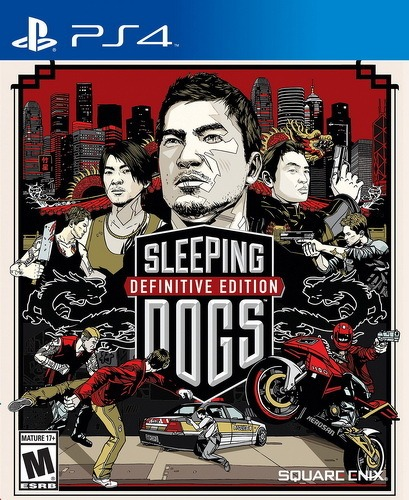 Диск PS4 Sleeping Dogs Definitive Edition