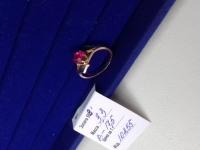 Кольцо с камнем Золото 585 (14K) вес 3.08 г