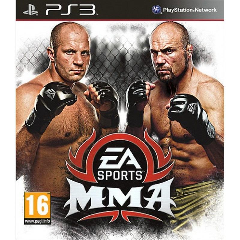 Диск для PS3 EA Sports MMA