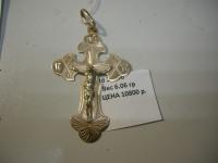 Крест Золото 585 (14K) вес 6.06 г
