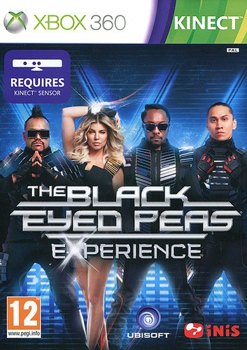 Диск Xbox 360 The Black Eyed Peas: Exprience