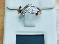 Кольцо Золото 585 (14K) вес 0.92 г