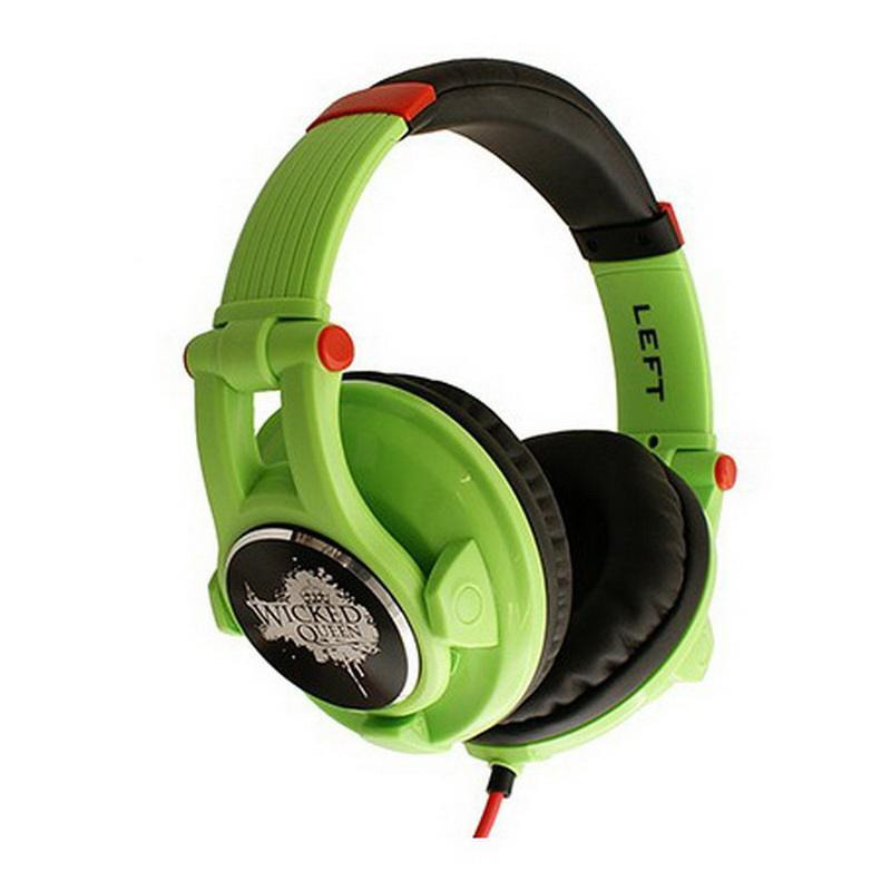 Наушники Fischer Audio Wicked Queen, green