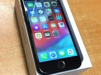 С/т Apple iPhone 7 128gb,черный,б/у,п/ц,з/у,коробка