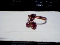 Кольцо с камнями Золото 585 (14K) вес 2.75 г
