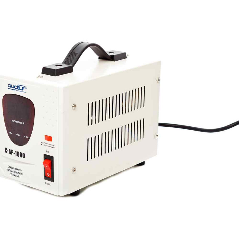 Стабилизатор напряжения однофазный rucelf стар-1000 0.7 квт