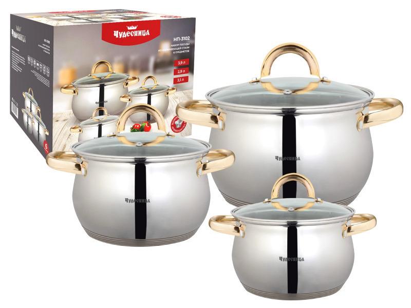 Набор посуды Чудесница НП-3102 (Новый)