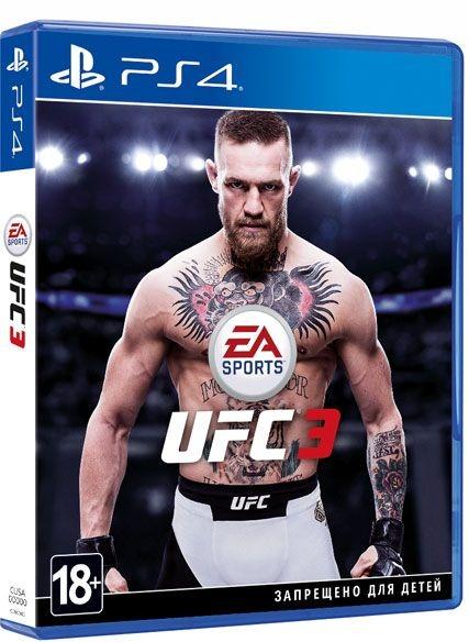 Диск на PS4 UFC 3