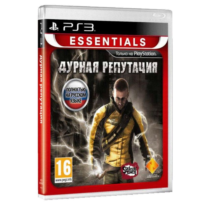 Диск PS3 Дурная репутация