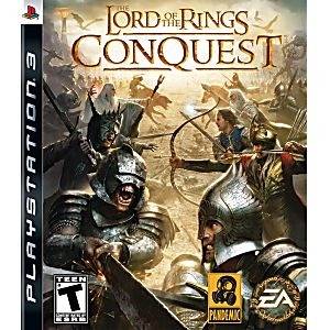 Диск PS3 The Lord of the Rings: Conquest