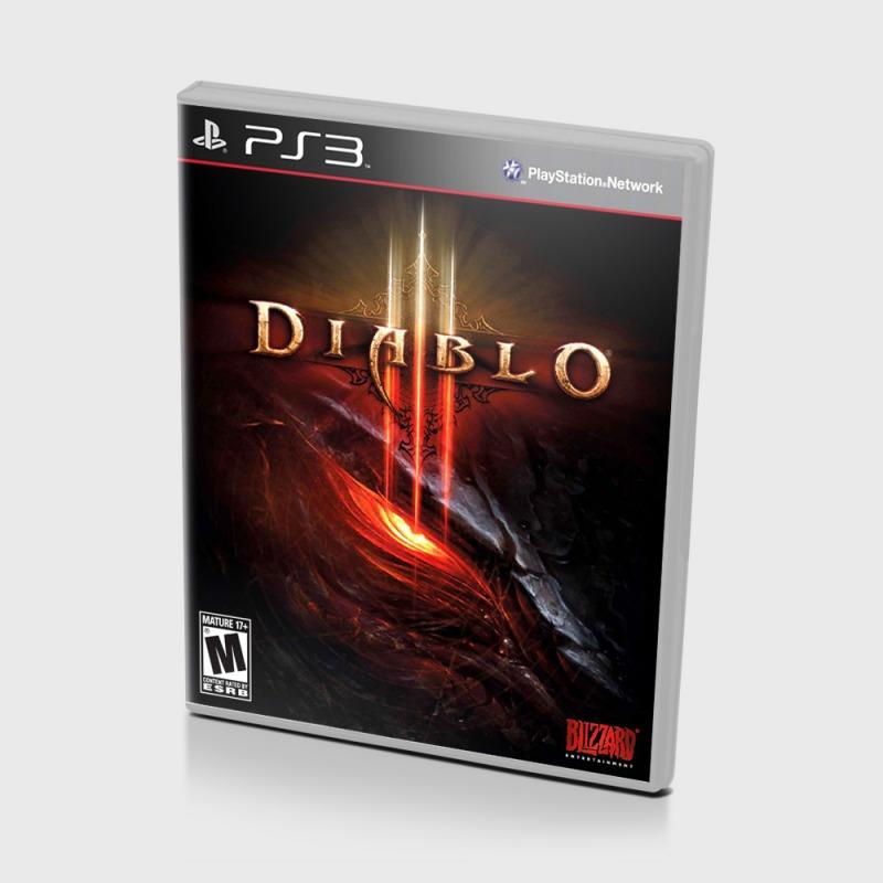 Диск на PS3 Diablo