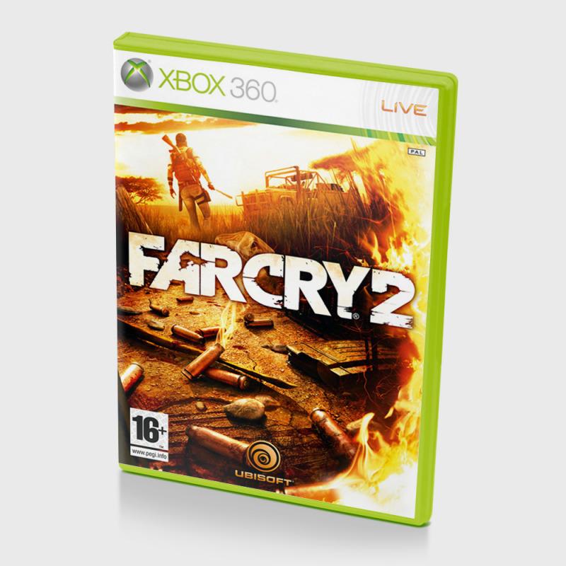 Диск для XBOX 360 FarCry 2