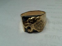 Печатка  Золото 585 (14K) вес 13.66 г