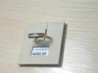 Кольцо с камнем Золото 585 (14K) вес 2.04 г