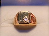 Печатка муж. Золото 585 (14K) вес 6.88 г