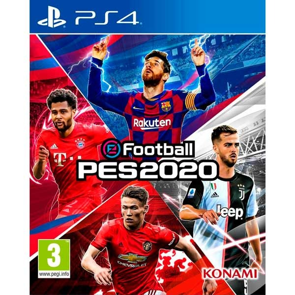 Диск PS4 Football PES2020