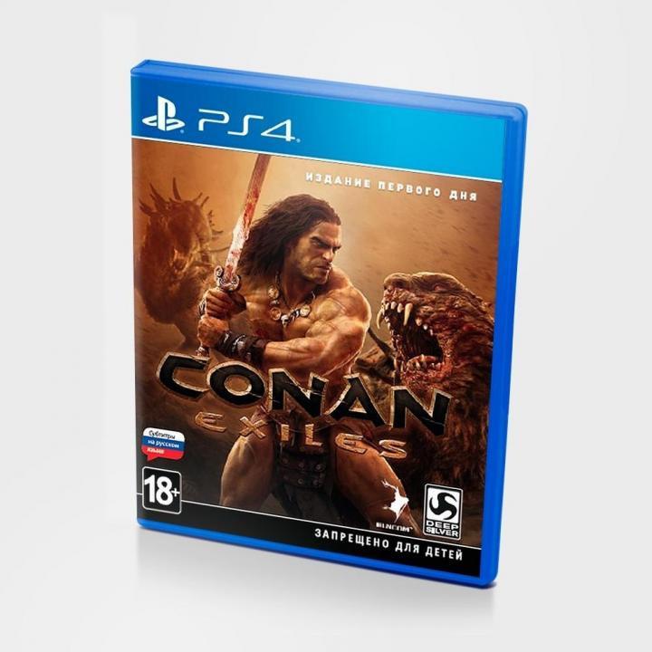 Диск для PlayStation 4 Conan Exiles
