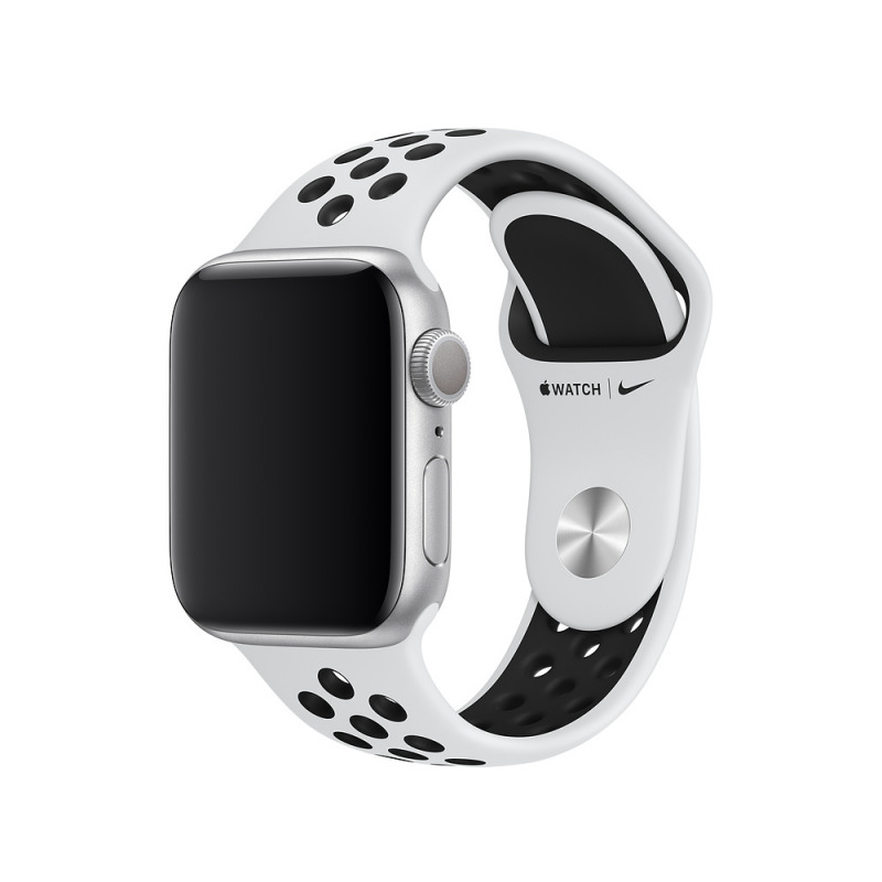 Умные часы Apple Watch Series 5 GPS 44мм Aluminum Case with Nike Sport Band