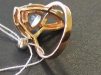 Кольцо с топаз. Золото 585 (14K) вес 6.52 г