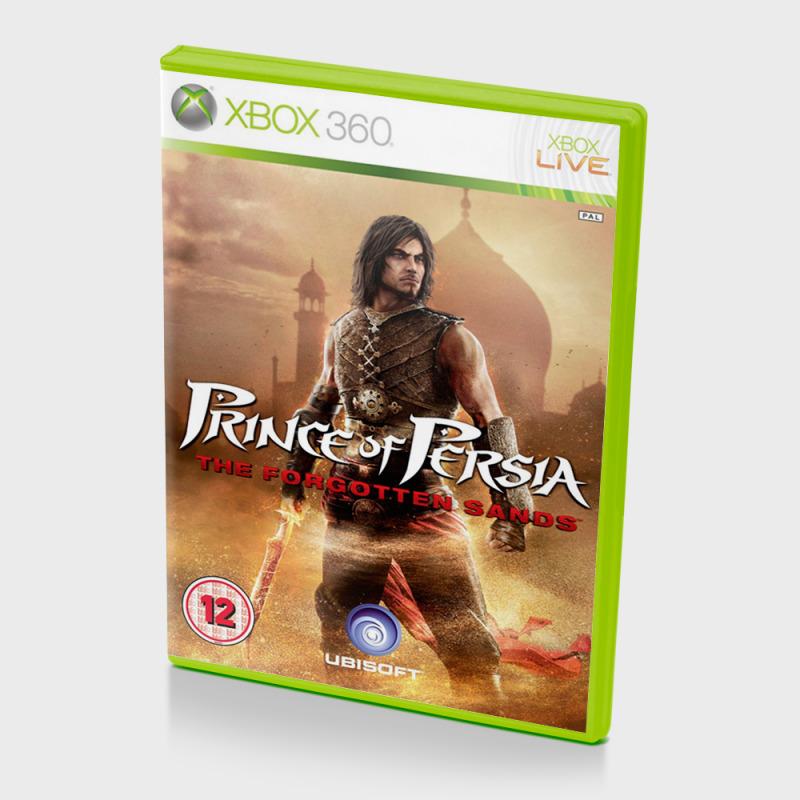 Диск для xbox 360 Prince of Persia: Забытые пески
