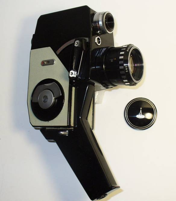 Старая  камера Лада