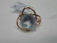 Кольцо с камнем Золото 375 (9K) вес 2.65 гр.