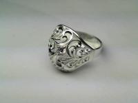 Кольцо с фианитом 42000028 Серебро 925 вес 3.64 гр.