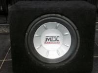 А/сабвуфер MTX AUDIO провода