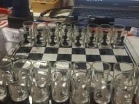 *Шахматы с рюмками