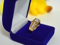 Кольцо Золото 585 (14K) вес 5.34 г