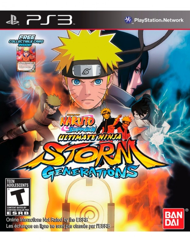 Диск PS3 Naruto Shippuden: Ultimate Storm Generations