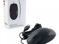 Мышь Logitech Opti cal B100 Black OEM