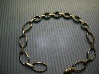 Браслет с камнем Золото 585 (14K) вес 8.18 г