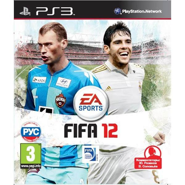 Диск PS3 FIFA 12