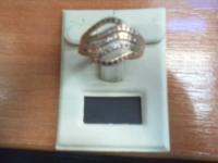 Кольцо   Золото 585 (14K) вес 3.94 г