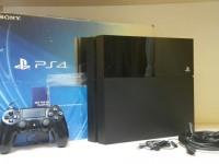 Игровая приставка Sony PlayStation 4 500 ГБ в коробке, з/у, джойстик, кабели (№49)