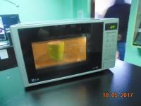 Микррволновая печь LG MS2042DS