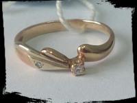 Кольцо Золото 585 (14K) вес 1.61 гр.