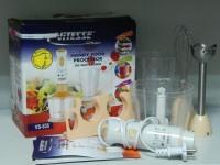 Ручной блендер Vitesse VS-535, коробка, две насадки, крепление, две чаши, инструкция