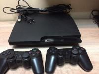 Sony PlayStation 3 в пакете, со всеми кабелями, 2 джостика (№-126в)