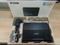 Роутер D-Link DSL-2640U в коробке