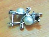 Серьги Серебро 925 вес 4.87 гр.