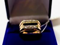 Печатка 1Н 6294 Золото 585 (14K) вес 5.97 гр.