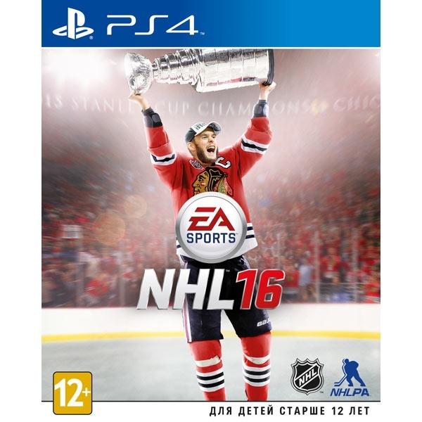 Диск PS4 NHL 16