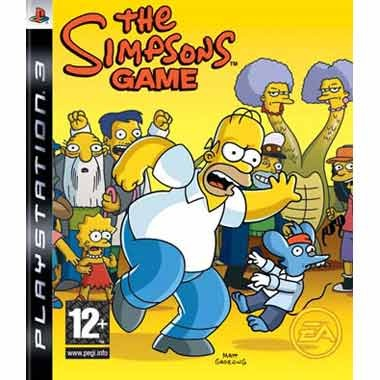 Диск PS3 The Simpsons Game