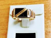 Кольцо Золото 585 (14K) вес 5.46 г