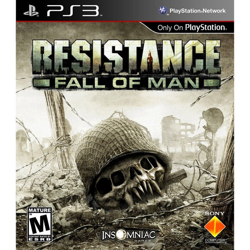 Диск PS3 Resistance: Fall of Man