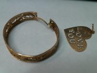 Ювел. изд. 2 шт. Золото 585 (14K) вес 5.01 гр.