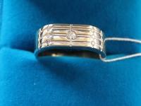 Кольцо  брилл. 0,1кр Золото 585 (14K) вес 9.27 гр.